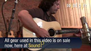 Eastman AC720 Sitka Spruce/Indian Rosewoood Dreadnought Acoustic Guitar Demo Video