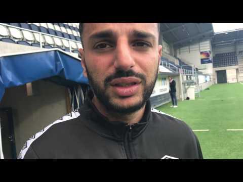 Poya Asbaghi efter 0-1 mot Örgryte