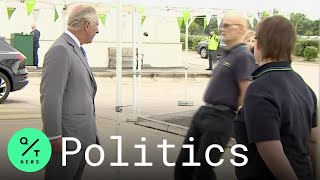 Supermarket Employee Faints in Front of Prince Charles