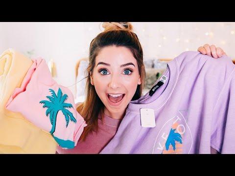 Spring Clothing Haul | Zoella
