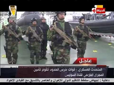 """سيناء 2018 - المؤتمر الصحفي للمتحدث العسكري حول تطورات العملية الشاملة """" سيناء 2018"""