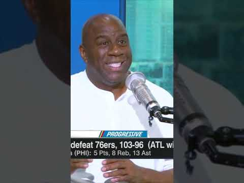 Fire the Pacers' GM and president! - Magic Johnson defends Nate McMillan #Shorts
