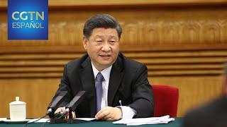 Xi subraya el enfoque centrado en el pueblo para desarrollo económico y esfuerzos contra COVID-19