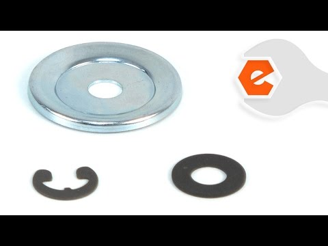 Chainsaw Repair - Installing the Clutch Washer Kit (Poulan Part # 530071945)