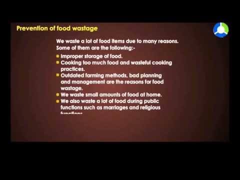 Prevention of Food Wastage