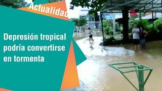 Depresión tropical podría convertirse en tormenta | Actualidad