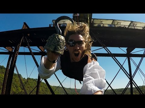 GoPro: Walk the Plank Bungee Jump with Collin Harrington