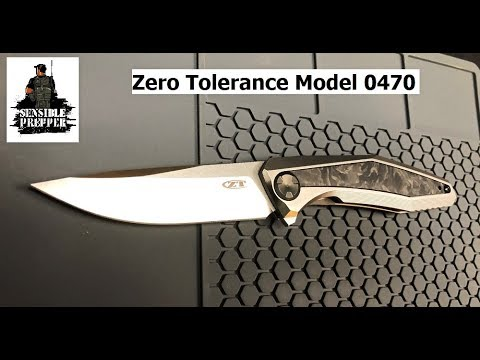 Zero Tolerance ZT 0470 Folding Knife Review