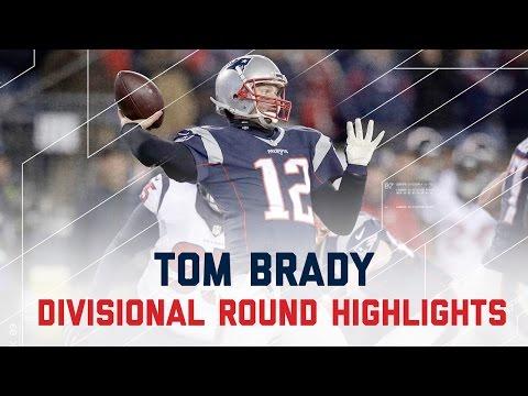 Tom Brady's Gritty 2 TD Night! | Texans vs. Patriots | NFL Divisional Player Highlights