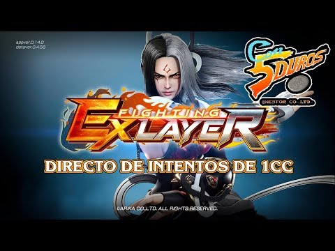 DIRECTO: FIGHTING EX LAYER (STEAM) (Intentos de 1cc)