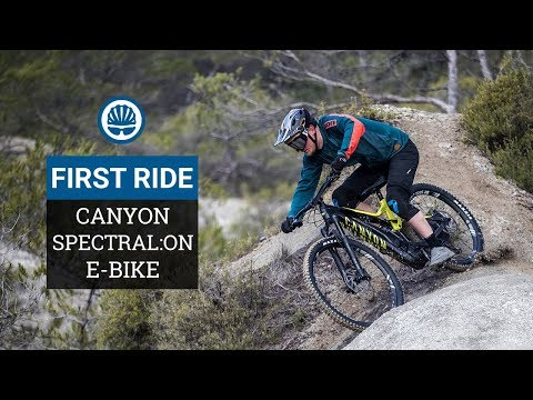 Canyon Spectral:ON First Ride - Mullet-Wheels & Clever Saddles