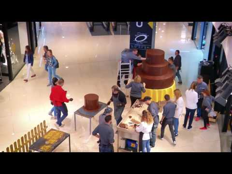 Huge Chocolate Birthday Cake @One Salonica