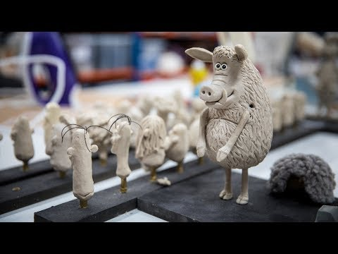 The Clay in Stop-Motion Animation at Aardman Studios