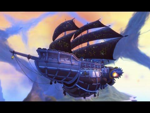 Cloud Pirates: 5 Minutes of Beta Gameplay in 1080p 60fps