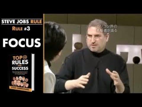 Steve Jobs Morning Motivation | Rules #3-4 | Day 2 of 200 photo