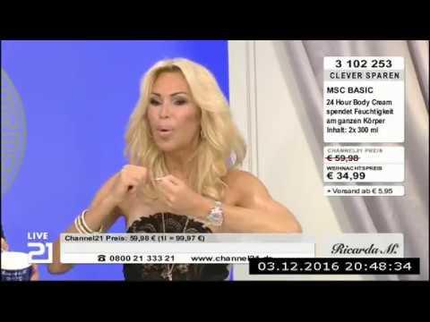 Ricarda M. bei Channel21 03.12 Teil 2