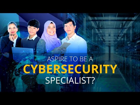Aspire to Be a Cybersecurity Specialist?