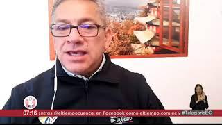 #EntrevistasTelediario | Juan Pazos, director ejecutivo de la Agencia Nacional de Tránsito