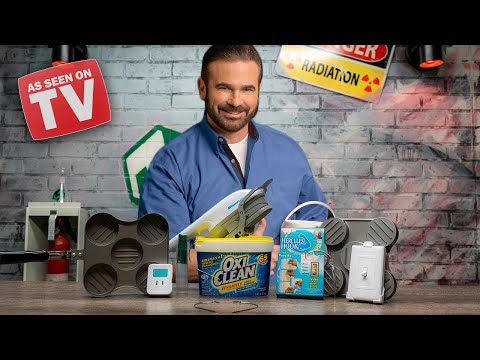 As Seen On TV Billy Mays Products Tested