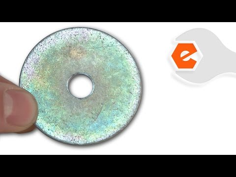 Chainsaw Repair - Replacing the Large Clutch Washer (Poulan Part # 530016419)