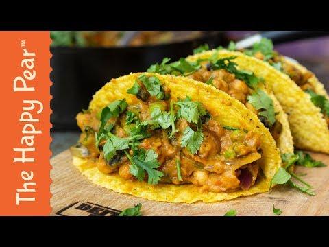"""Indian Curry Tacos !!"""" #VEGANCOMFORTFOOD"""