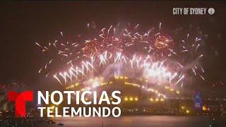 Australia, Hong Kong y Tailandia: así celebraron la llegada del Año Nuevo   Noticias Telemundo