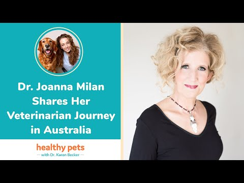 Dr. Joanna Milan Shares Her Veterinarian Journey in Australia
