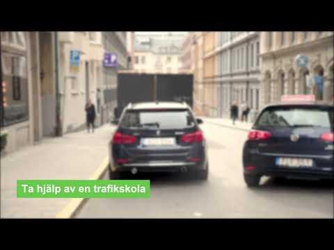 Lätt svenska, film 8. Körkort