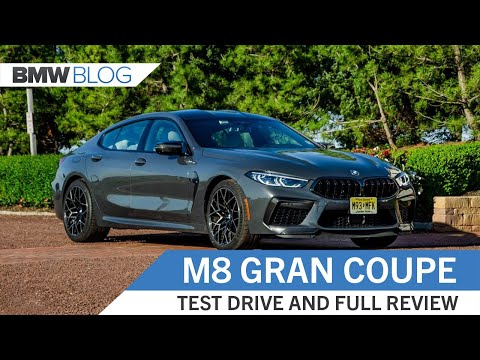 BMW M8 Competition Gran Coupe - Test Drive and Review
