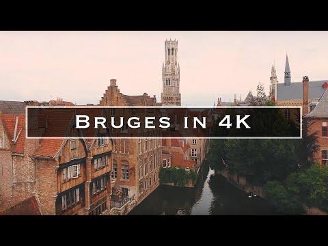 Bruges in 4K
