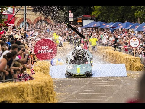 Red Bull Soapbox Race - 24 Seconds of Le Ally Pally