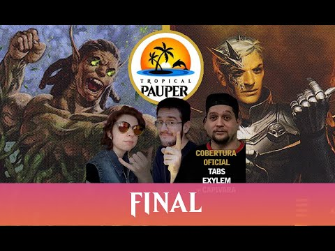 Mono-Green Stompy VS Jeskai Affinity - Tropical Pauper - Narração ao vivo - Final