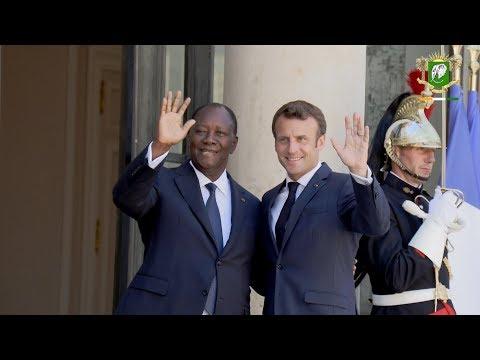 Rencontre avec le Président de la République Française, S.E.M. Emmanuel MACRON