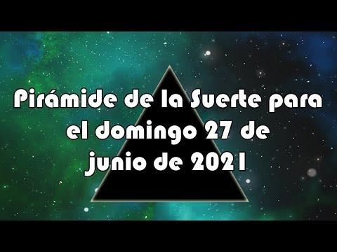 Lotería de Panamá - Pirámide para el domingo 27 de junio de 2021