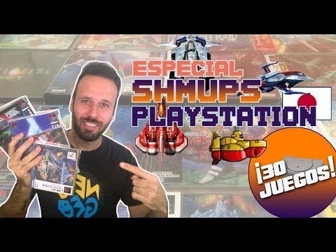 ¡ESPECIAL SHMUPS de PLAYSTATION! PS1 - Matamarcianos- JAPAN Only