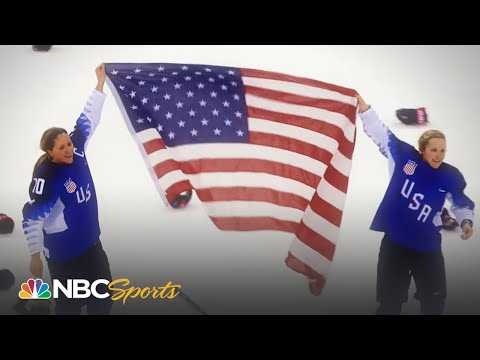 Experience Team USA's 'electrifying' hockey win for gold