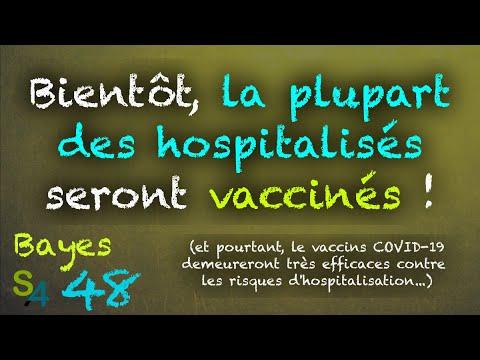 Prebunking : les vaccinés hospitalisés