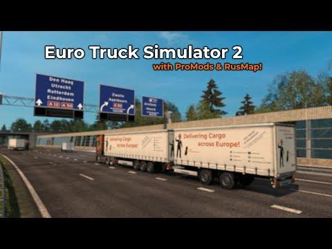 Euro Truck Simulator 2  ProMods  RusMap Livestream 24022018