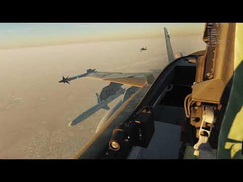 DCS World F/A-18C | Ataque a Bandar Abbas | Escuadrón 111