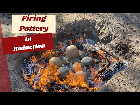 Firing Pottery in Reduction