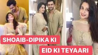 Eid Special | Shoaib and Dipika share about their Eid preparations, plans, and more | Checkout Now! - TELLYCHAKKAR