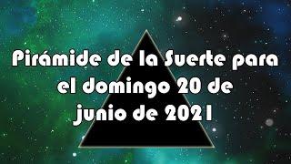 Lotería de Panamá - Pirámide para el domingo 20 de junio de 2021