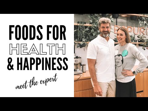 Video: How to reduce anxiety & depression with food