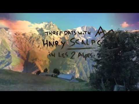 Three Days With Hairy Scalps in Les 2 Alpes