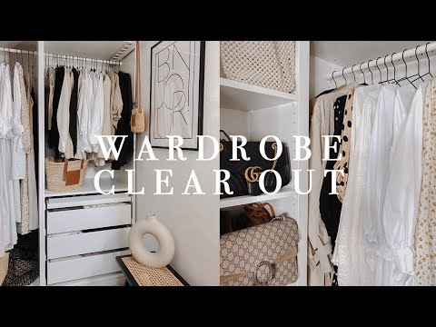 Walk In Wardrobe Clear Out & Declutter | Organise With Me | I Covet Thee