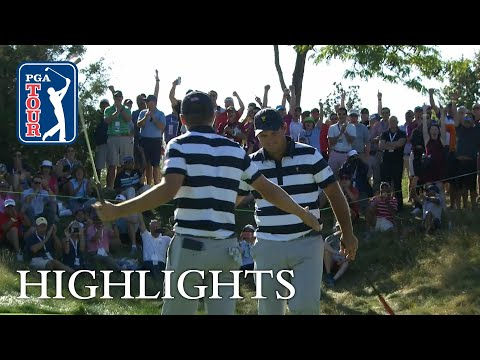 Spieth, Reed extended highlights | Day 1 | Presidents Cup