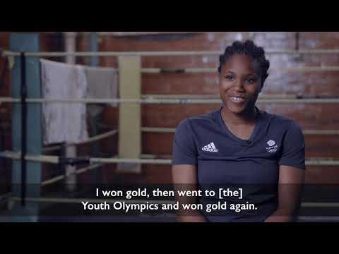 Meet Caroline Dubois....Youth Olympic champion and Tokyo 2020 hopeful