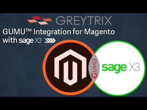 GUMU™ for Magento - Sage X3 Integration