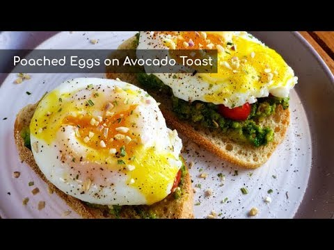 Poached Eggs on Avocado Toast | Breakfast Recipe | Amy Learns to Cook
