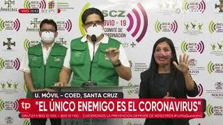 Santa Cruz registra 615 recuperados de coronavirus en un día, los contagios fueron 463 este martes